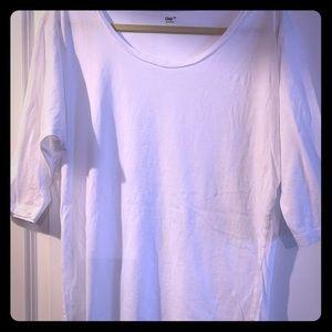 Gap White Boatneck Knit Shirt